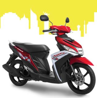 Yamaha Mio M3 Merah terbaru 2016