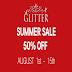 GLITTER - SUMMER SALE