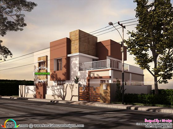 4 bedroom, 297 sq-m modern house, May 01, 2017