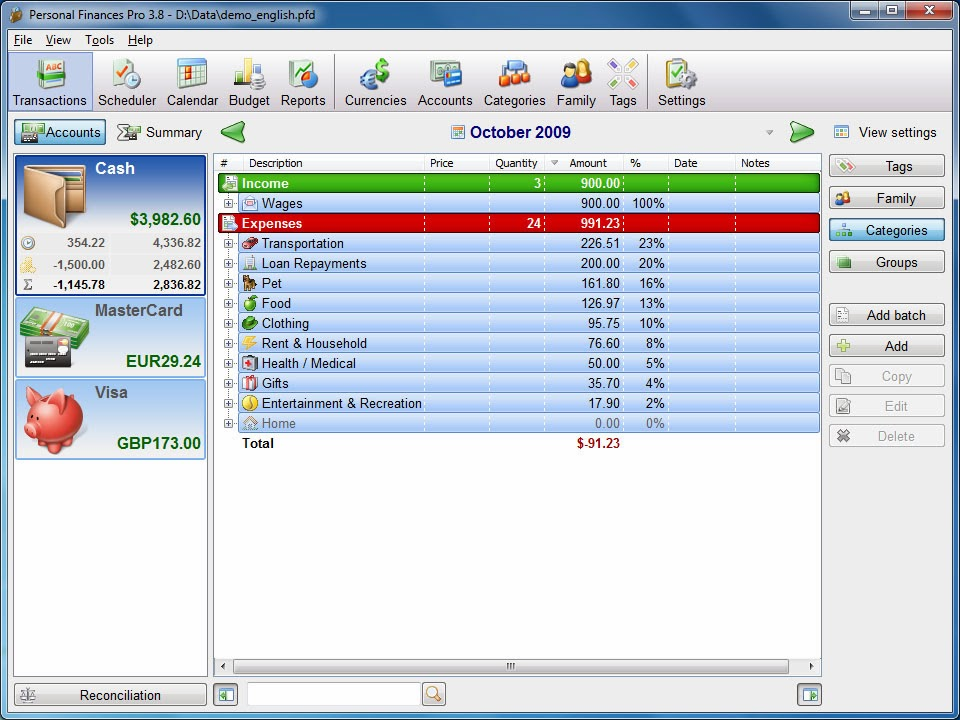 Naseer Marwat Free softwares Blog - free home budget program