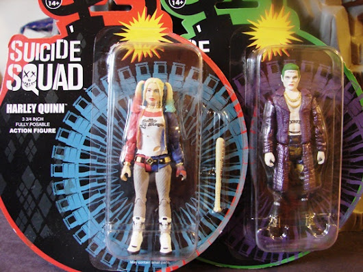 Harley Qwednesday :: Suicide Squad Harley Quinn and Joker ReAction figures