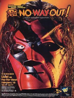 WWE / WWF In Your House 20: No Way Out of Texas - Event poster