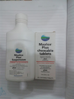 مالوكس شراب وأقراص وأكياس علاج الحموضة Maalox syrup, tablets and sachets