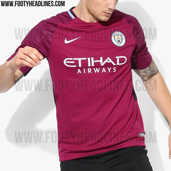 Manchester City 2017-18 Away Kit. These images show the new Nike Manchester  City 2017-2018 away jersey. 7ba0f2cae
