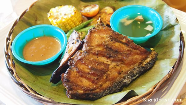 Owa's Pangahan - Bacolod restaurants - grilled tuna panga