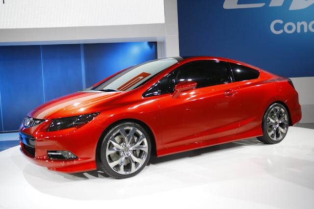 2013 Honda Civic Coupe Side Design