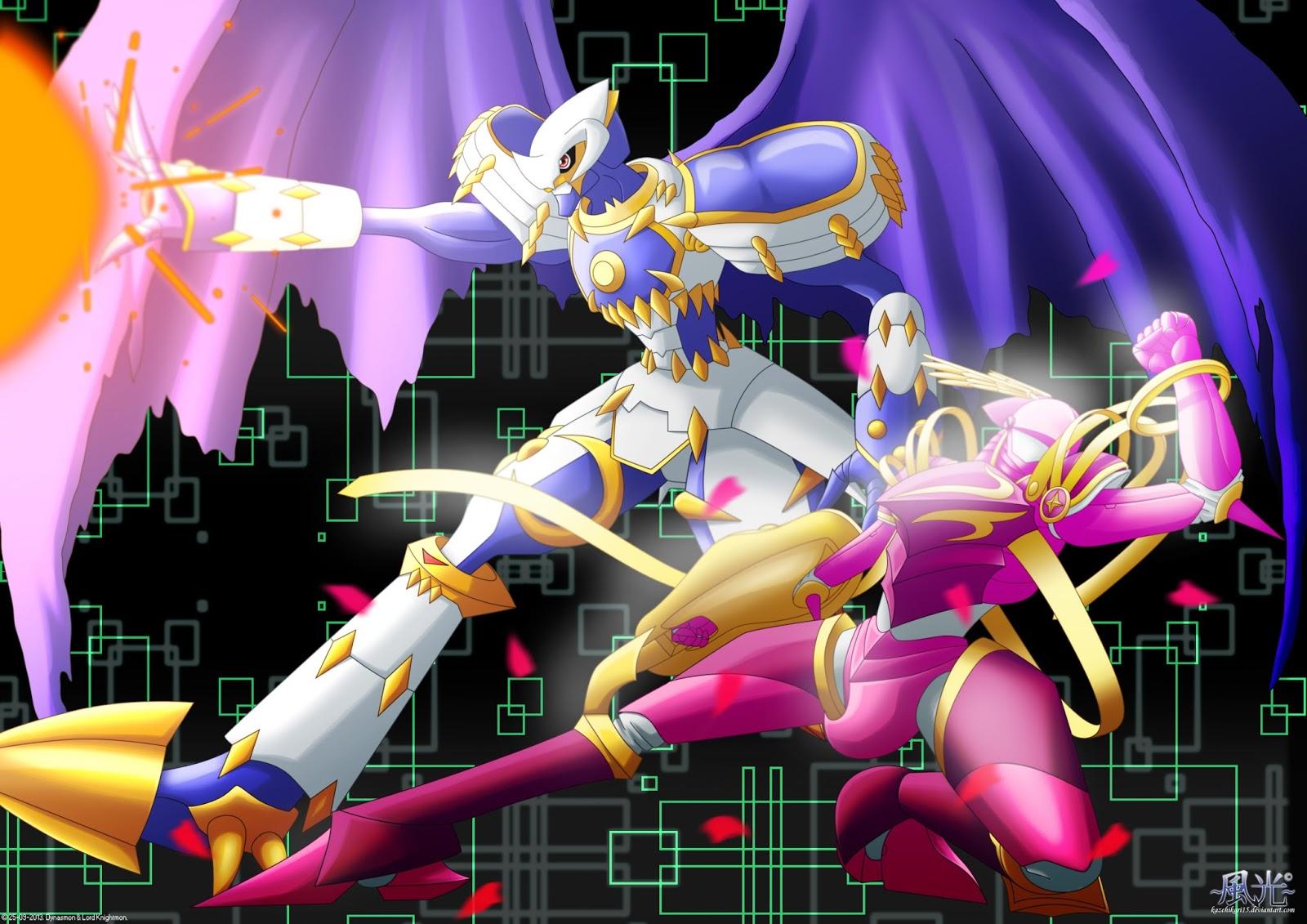 Dynasmon and Crusadermon Royal Knights Digimon Wallpaper HD is free HD ...
