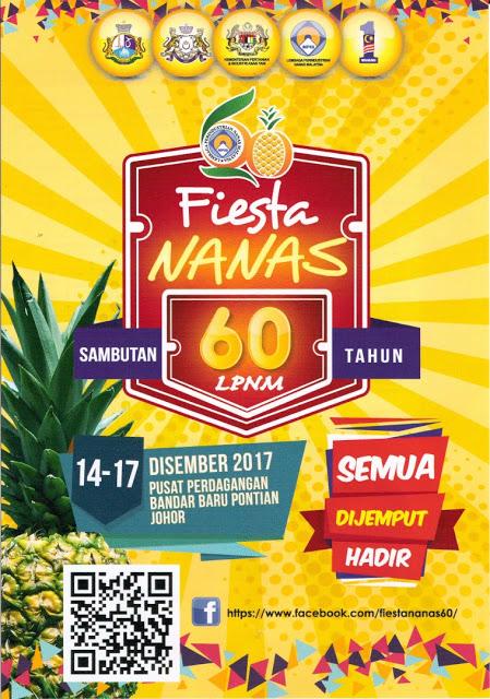 Hebahan Fiesta Nanas Sambutan 60 Tahun LPNM