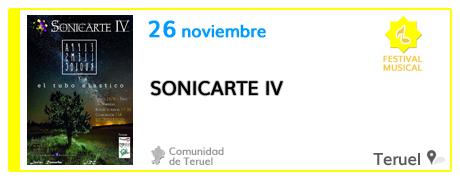 IV Festival Sonicarte en Teruel