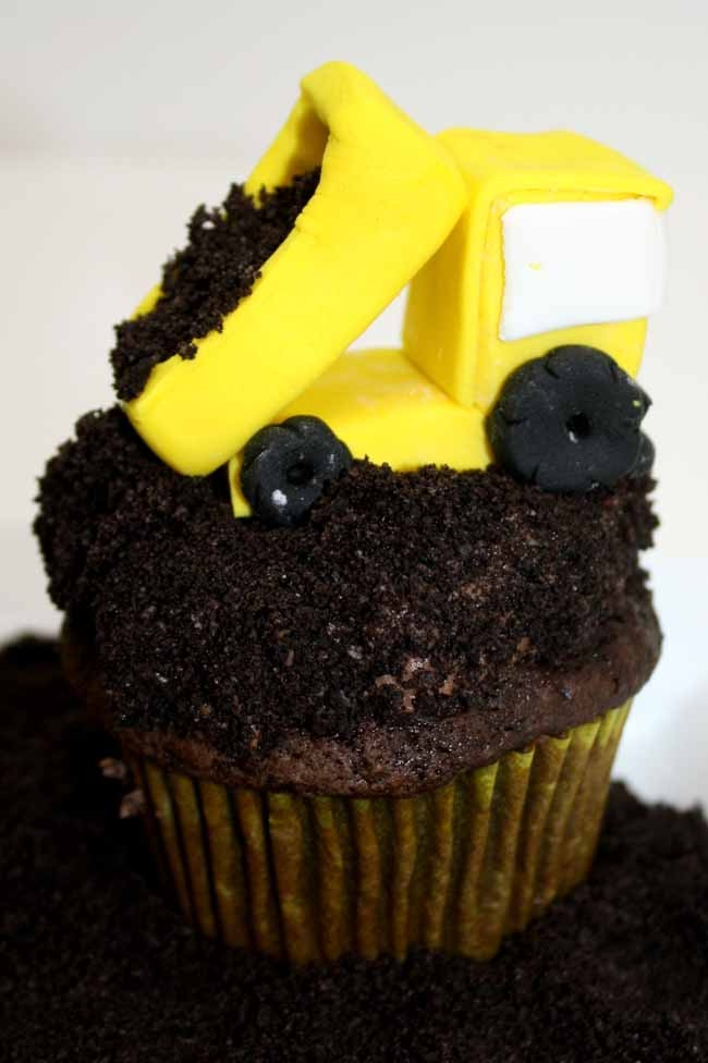 Sweet Eats Cakes Construction Themed Cupcake Toppers Tutorial