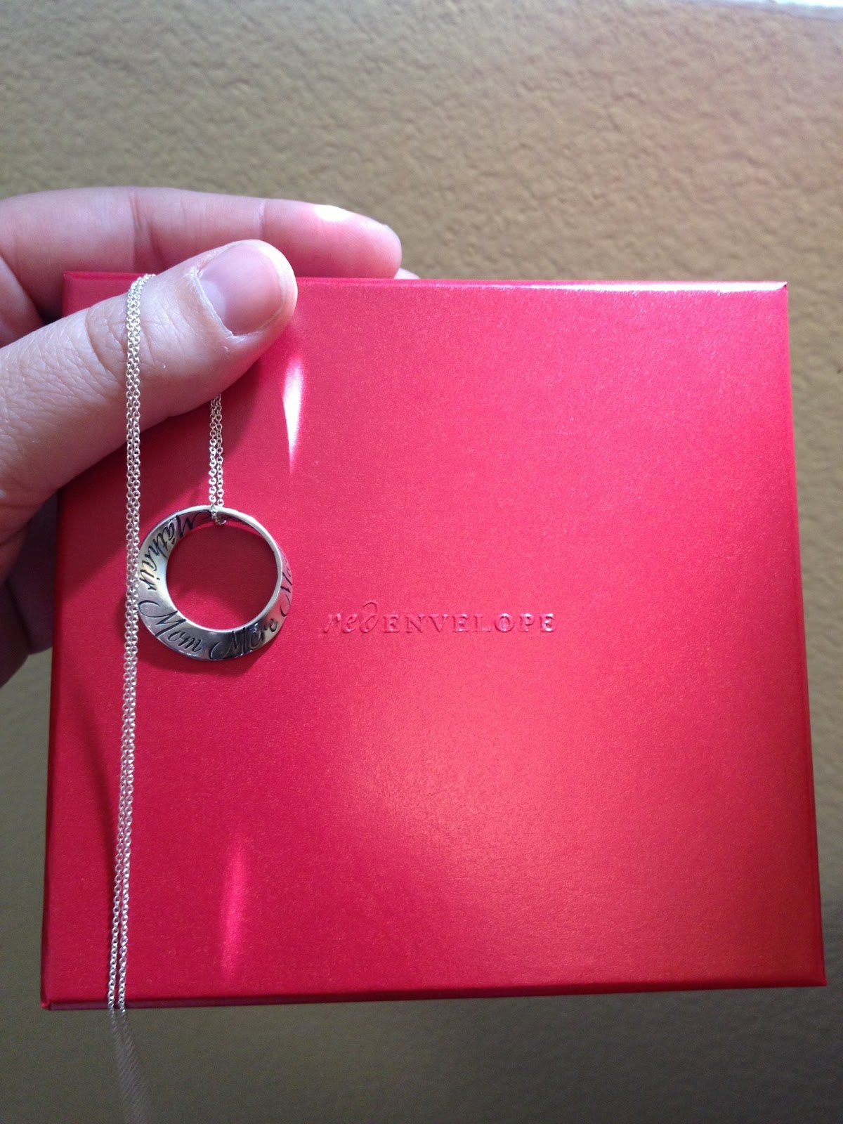 Red Envelope Gifts For Her Mom Necklace Review Frugal