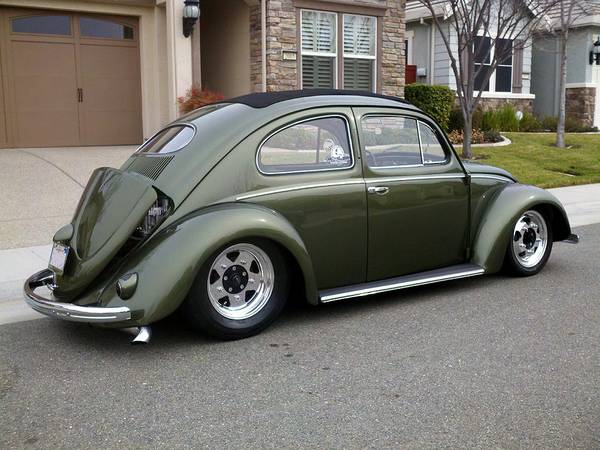 used 1953 vw beetle ragtop pro street by owner. Black Bedroom Furniture Sets. Home Design Ideas