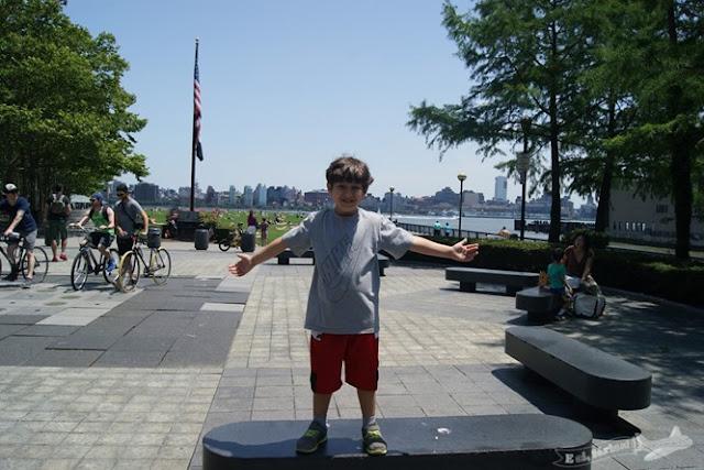 Nova Iorque com crianças