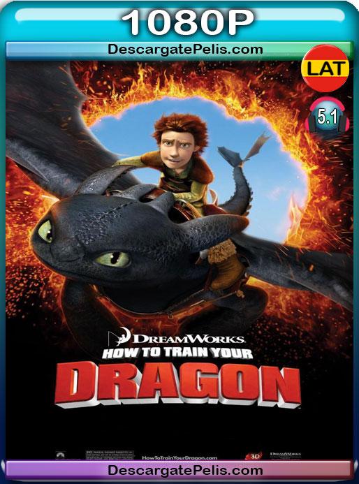 Cómo entrenar a tu dragón (2010) 1080P BRrip Latino – Ingles