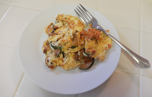 Zucchini%2BOnion%2BMushroom%2BSalsa%2BOmelette%2BFrittata Weight Loss Recipes Post Weight Loss Surgery Menus: A day in my pouch