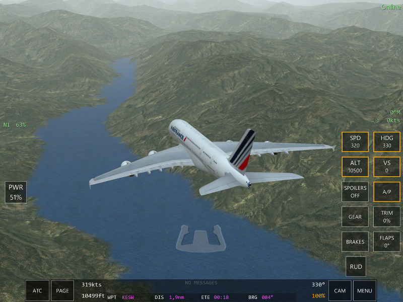 Midi vers Seattle Infinite Flight