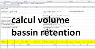 calcul bassin de rétention xls, dimensionner un bassin de rétention quelle méthode, note de calcul bassin de rétention eaux pluviale,s calcul rétention eaux pluviales excel, dimensionnement bassin de retention methode des pluies, bassin de rétention eaux pluviales, methode de calcul bassin de retention.