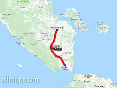 rute kereta api Limex Sriwijaya
