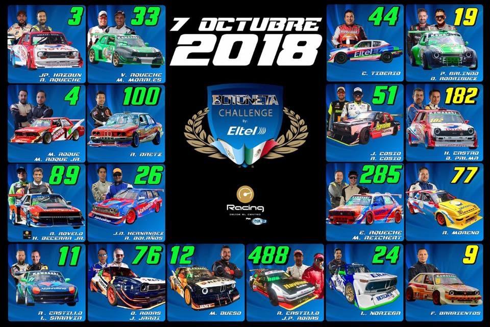 Calendario Autodromo Pedro Cofino 2019.Siete Pilotos Mexicanos Participan Botoneta Challenge P