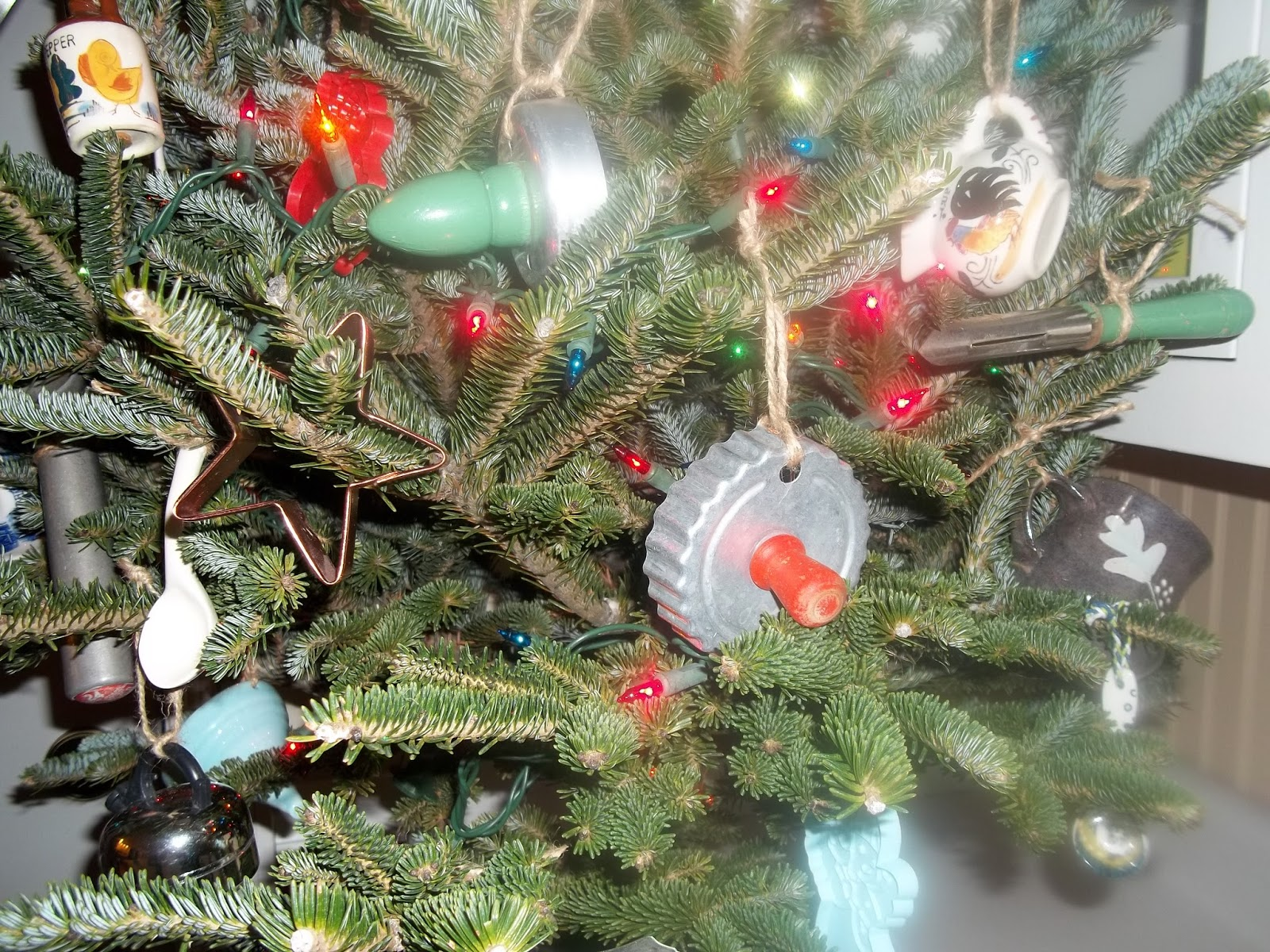 Kitchen Christmas Tree From The Heartcheryl Stjohn Great Christmas Tree Tour 2016