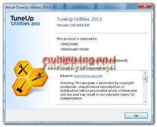 TuneUp Utilities 2013 13.0.2013.195 Full Crack + Register File