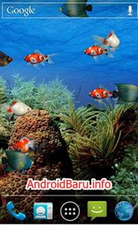 Gambar Aquarium wallpaper hidup Android