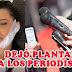 Ana del Castillo no asistió a su propia rueda de prensa