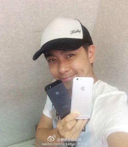 Belum Rilis, iPhone 6 Muncul Bersama Artis Tiongkok