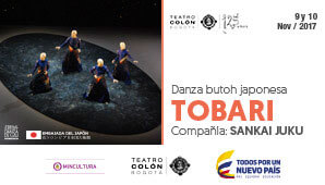 Danza Butoh japonesa: TOBARI por la Sankai Juku