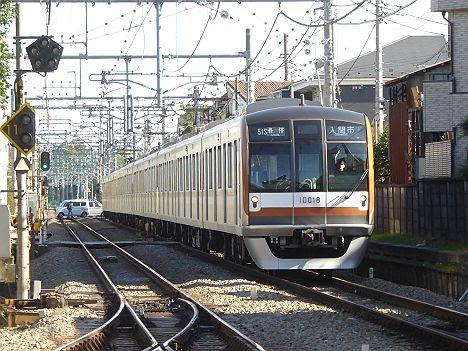 西武池袋線 各停 入間市行き 東京メトロ10000系フルカラーLED