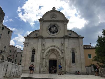 St James' Cathedral in Šibenik, Croatia