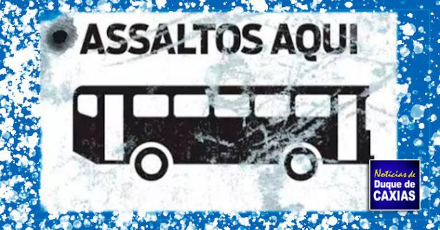 Ônibus que saiu de Duque de Caxias com destino a Petrópolis, é assaltado por dupla armada