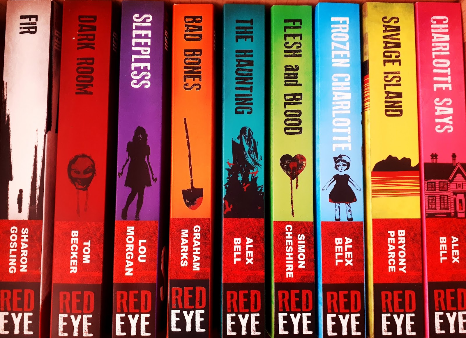 RED EYE BOOKS SERIES | Books2Door - nosaferplace