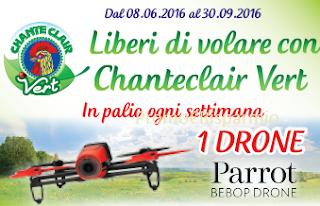Logo Ogni settimana vinci un Drone Parrot Bebop
