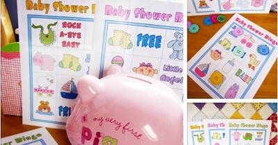 bingo para baby shower para imprimir gratis pdf
