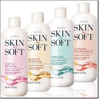 Avon Skin So Soft Body Washes