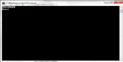 Chat With CMD (Command Prompt)