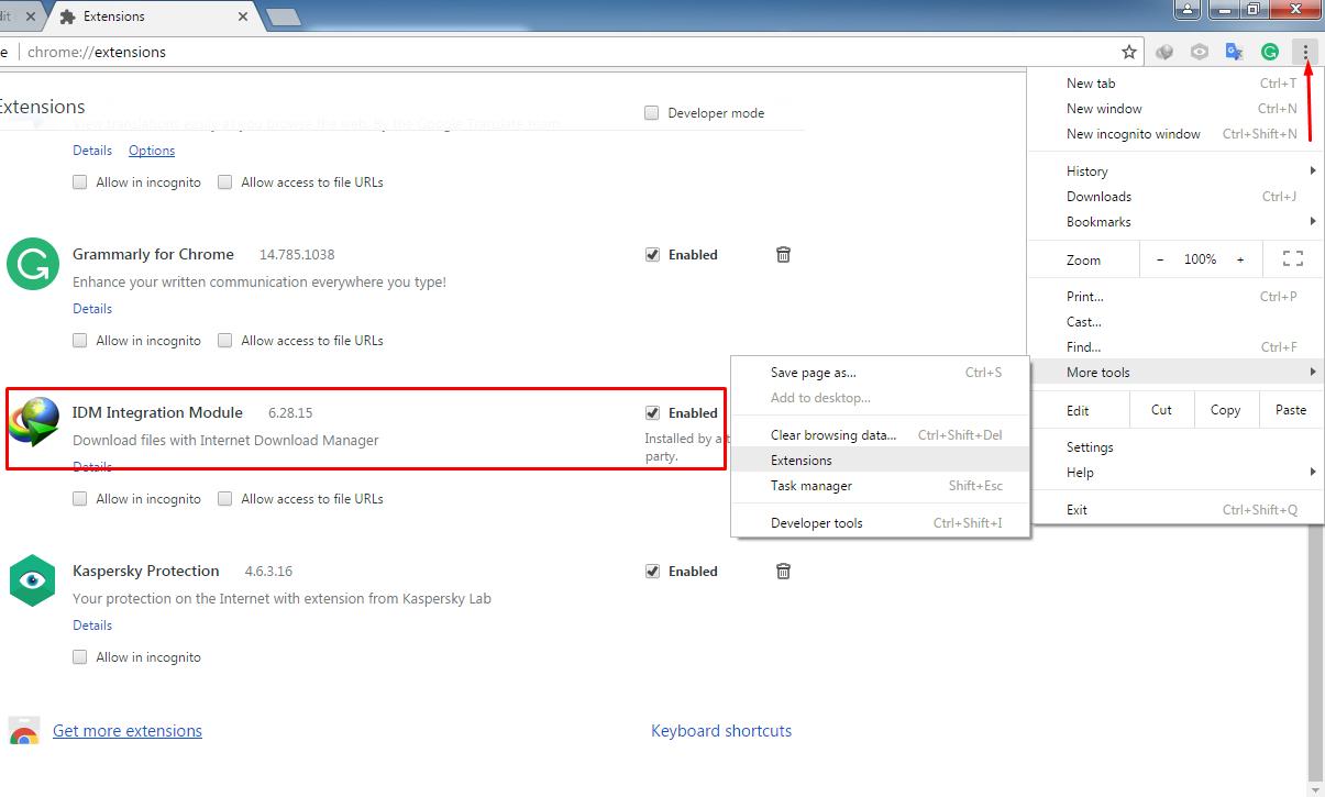Solusi IDM Tidak Muncul di Mozilla Firefox dan Google Chrome