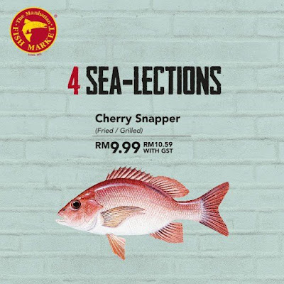 The Manhattan FISH MARKET Cherry Snapper