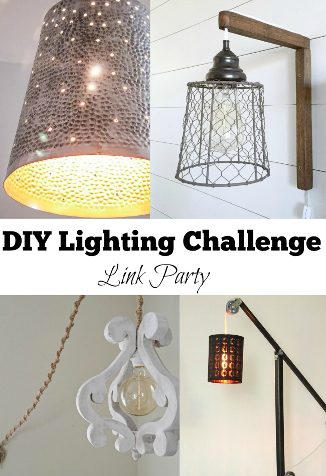 DIY Lighting Challenge Link Party, MyLove2Create