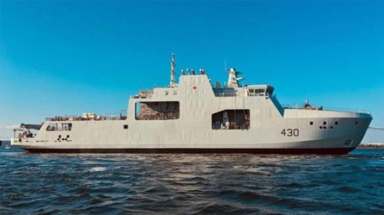 Fregat Angkatan Laut Kanada akan dilengkapi dengan kompleks pengintaian terbaru