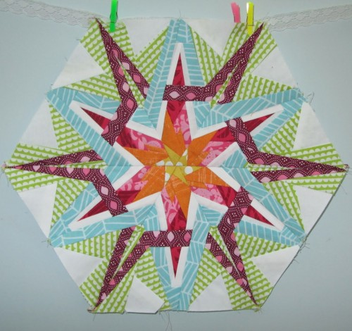 Stargazer Crystal Block - Free Quilt Pattern
