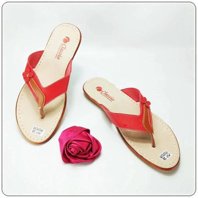 Sandal Wanita Kekinian | Sandal CS Japit Karet Wanita