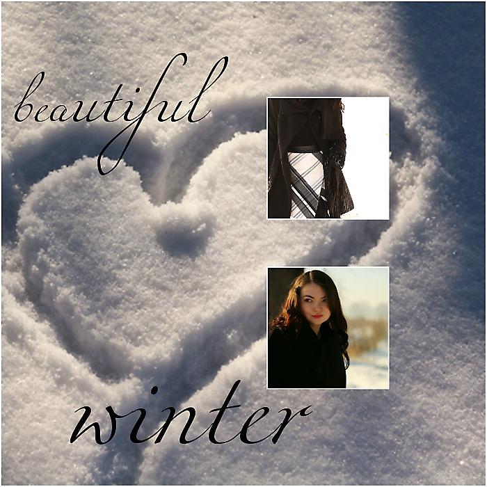 Zimowa stylizacja
