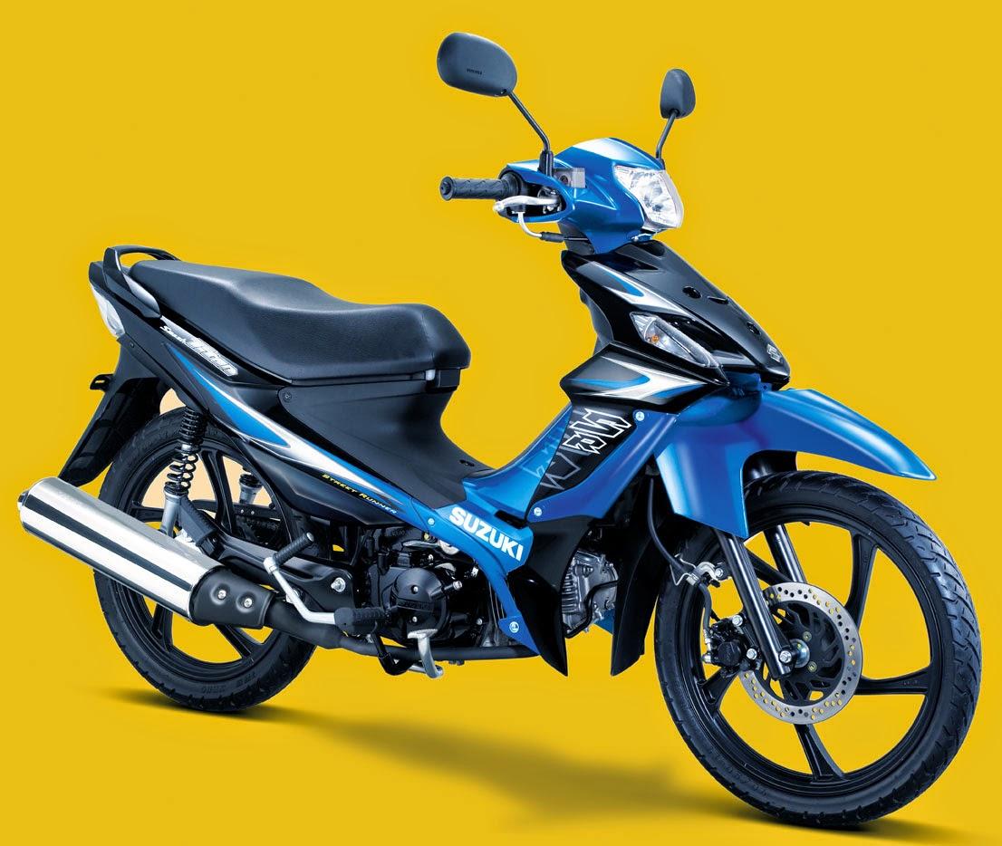 tampilan gambar sepeda motor suzuki titan spesial  info