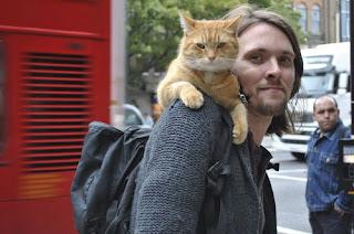 Un gato callejero llamado Bob. Historias londinenses