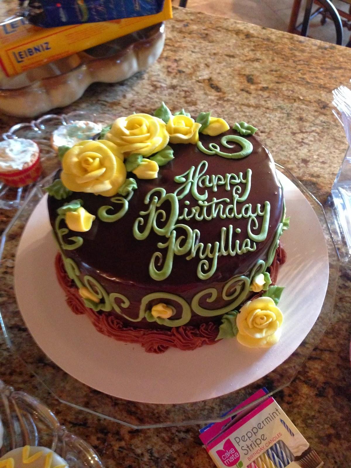 Birthday Cake Phyllis