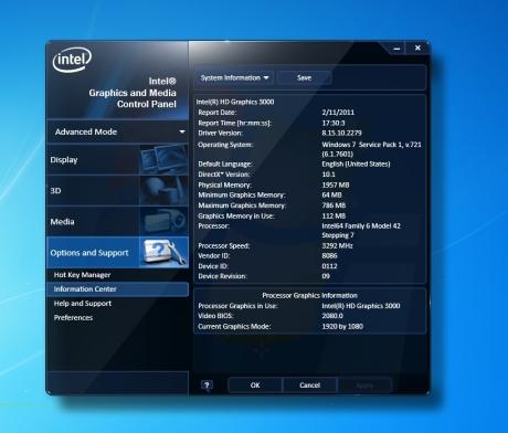 driver intel vga e900 download
