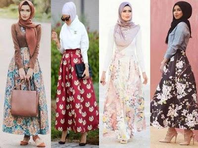 robe-hijab-motif-florale-2018