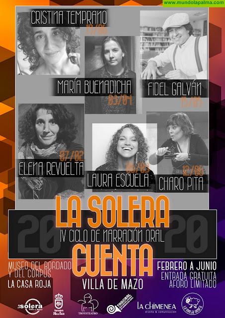 IV Ciclo de Narración Oral La Solera Cuenta 2020